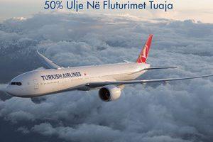 50% Ulje Në Fluturimet Tuaja