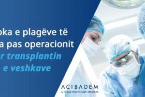 Epoka e plagëve të pakta pas operacionit për transplantin e veshkave